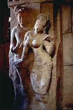 Statue of Couple from Indian Temple